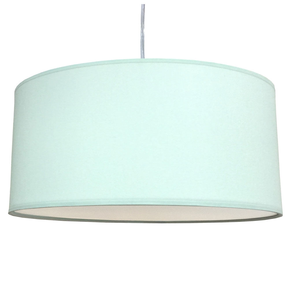 Drum Ceiling Shade Pale Green